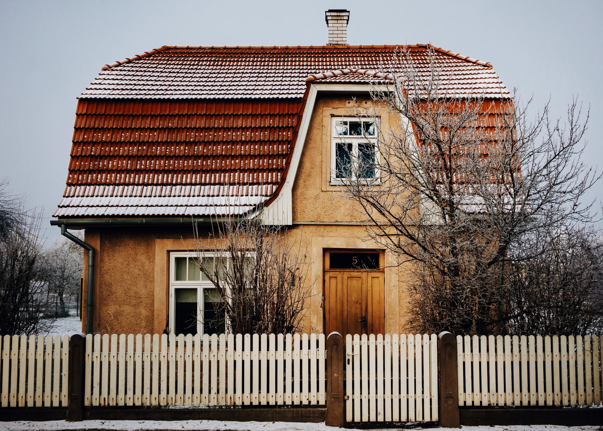 Maarjamõisa, Tartu, Estonia. December 2014.
