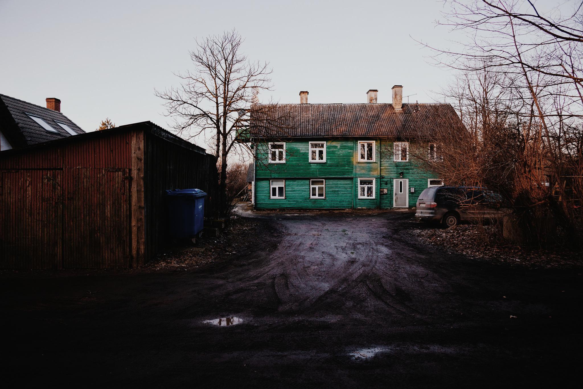 Ülejõe, Tartu, Estonia. March 2015.