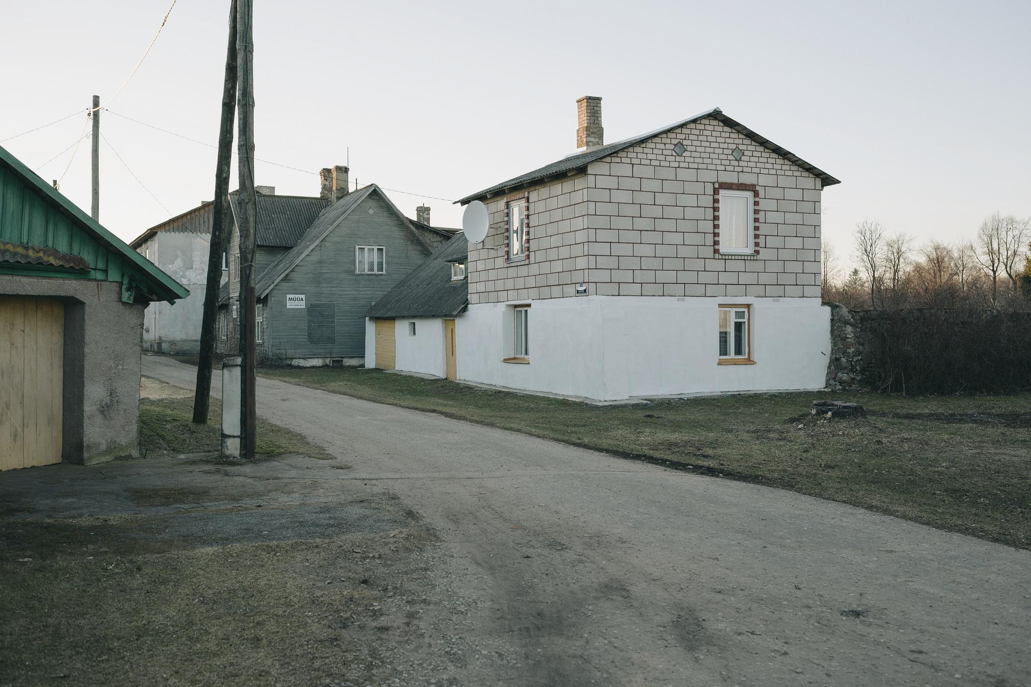 Kallaste, Estonia. March 2015.