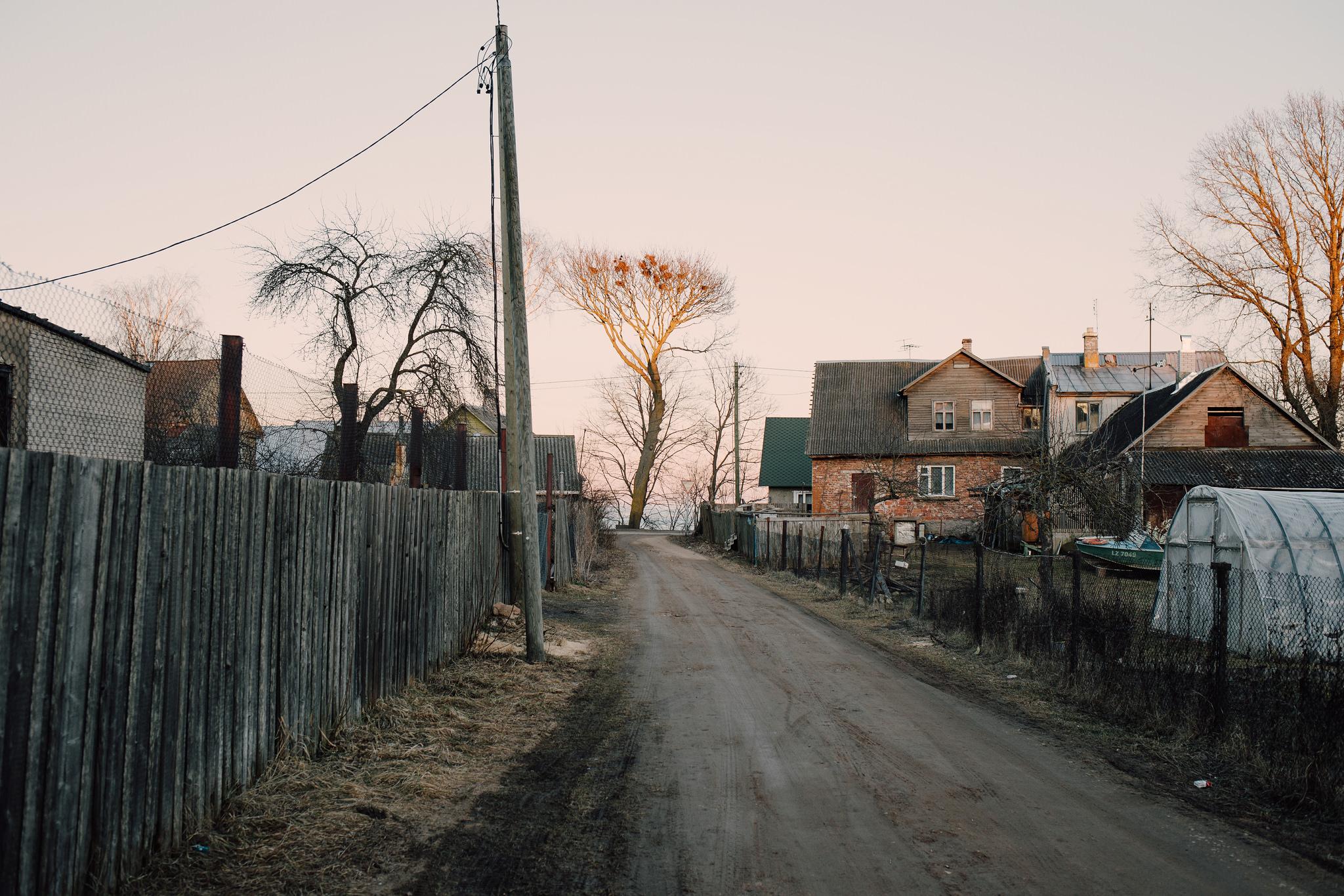 Kallaste, Estonia. March 2015.    Kallaste is the second smallest town in Estonia. Population 852.