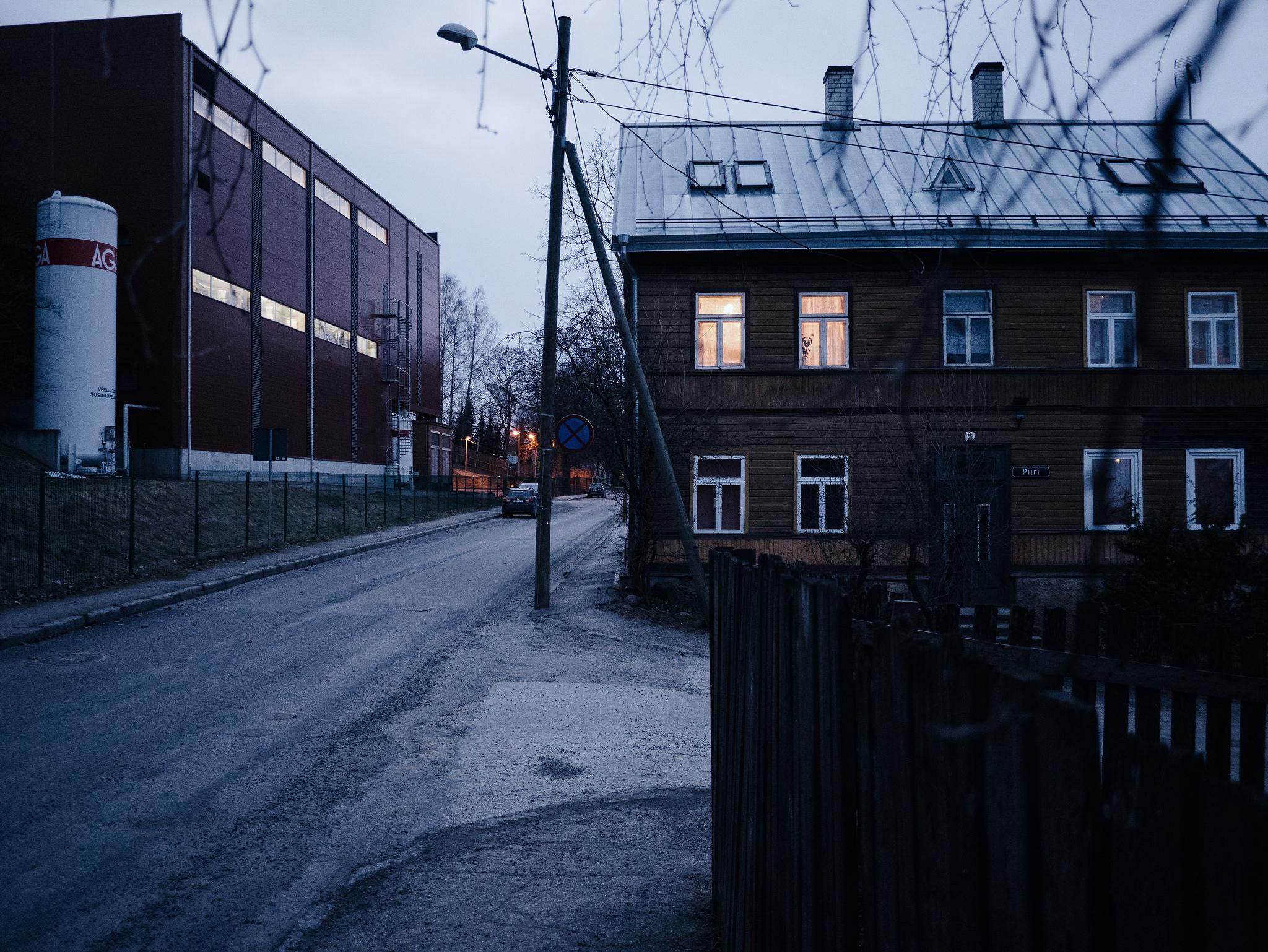 Supilinn, Tartu, Estonia. April 2015.