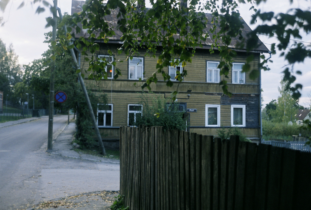 Supilinn, Tartu, Estonia. September 2010.  Not much has changed here.