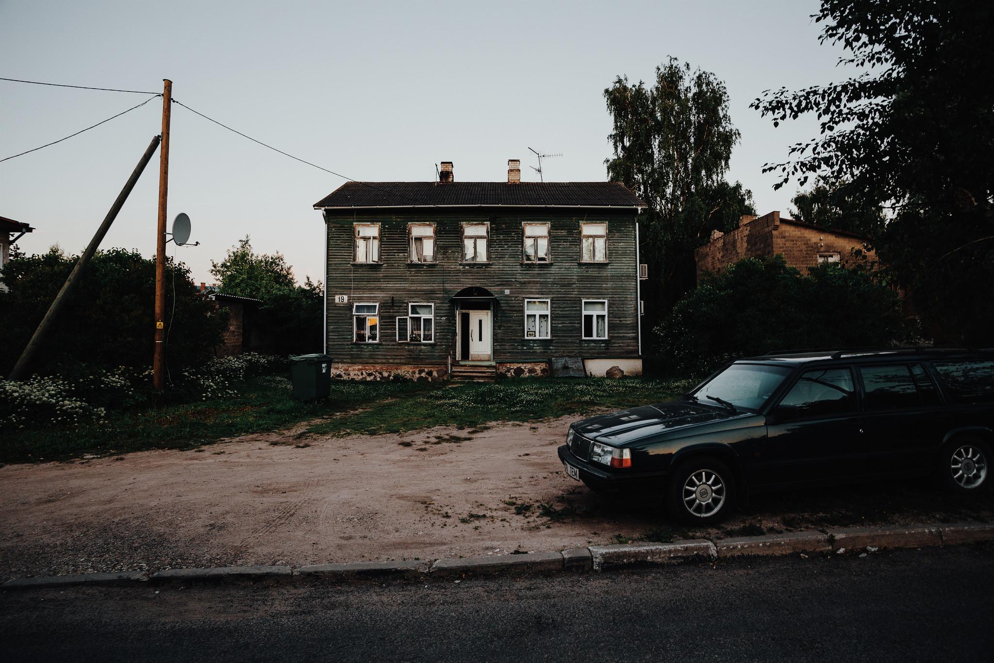 Supilinn, Tartu, Estonia, July 2015