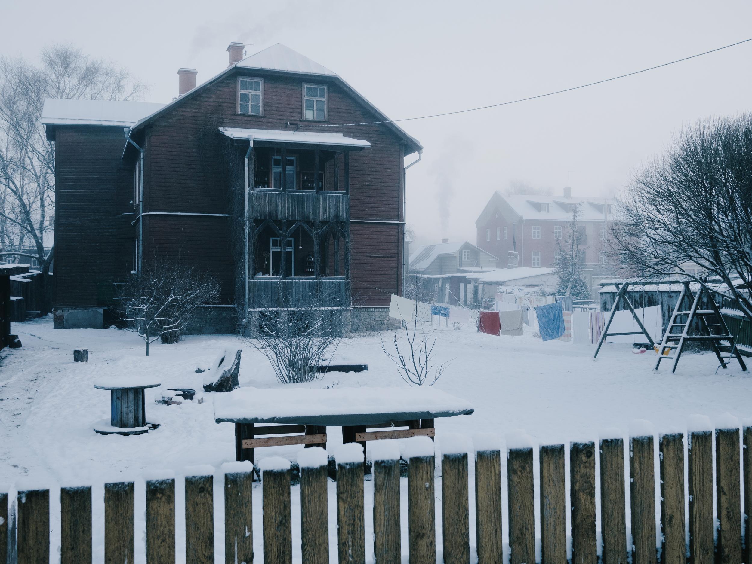 Supilinn, Tartu, Estonia, January 2016