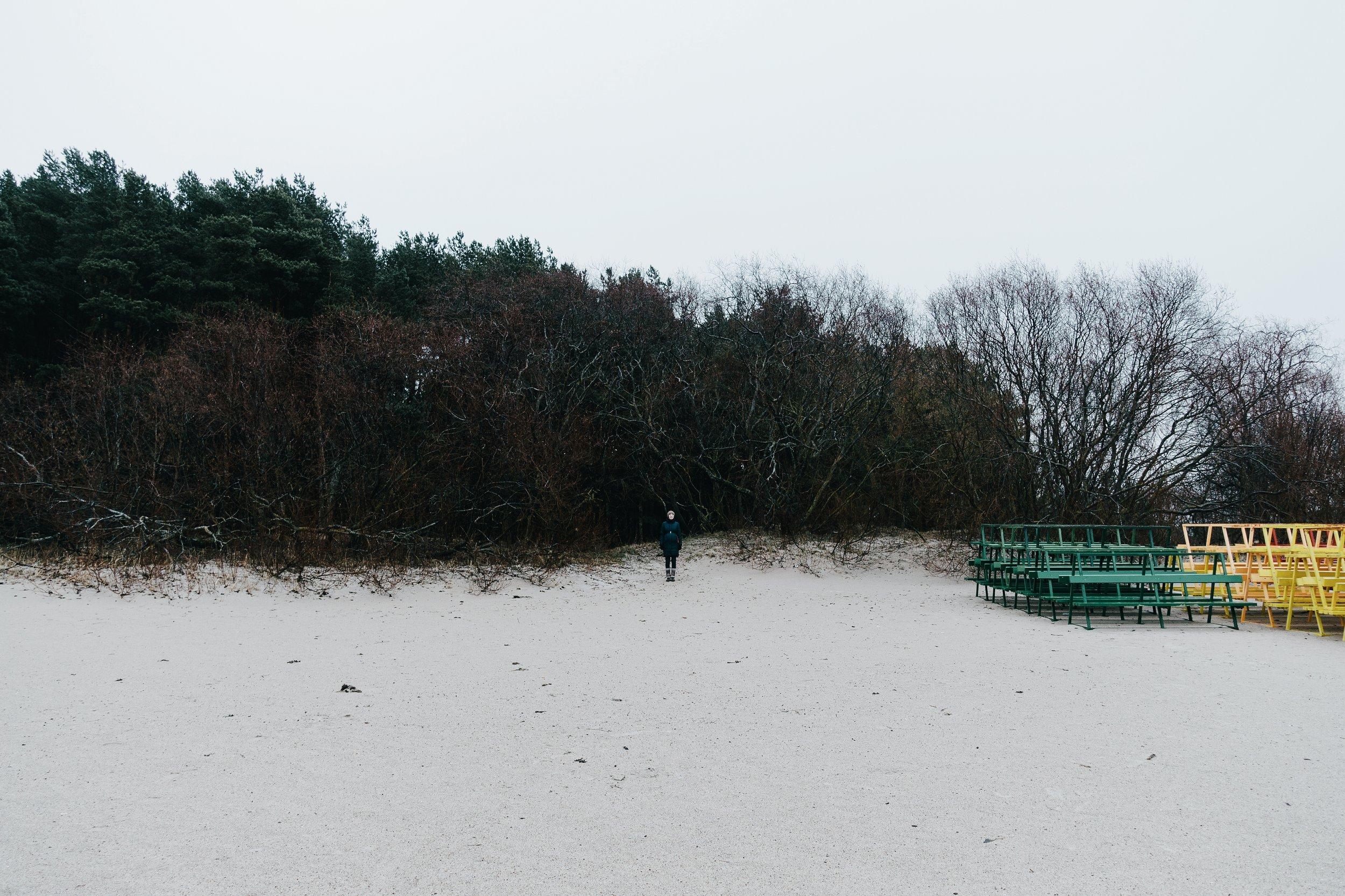 Pirita, Tallinn, Estonia, December 2016