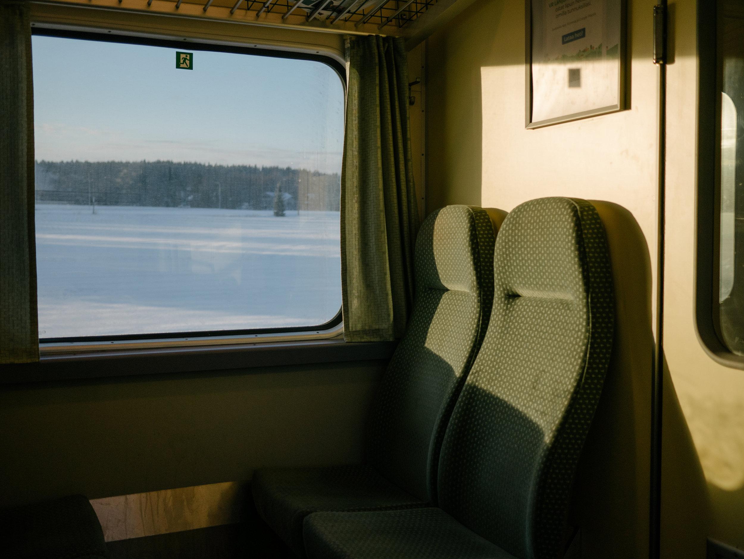 Lahti-Riihimäki, Finland, February 2017