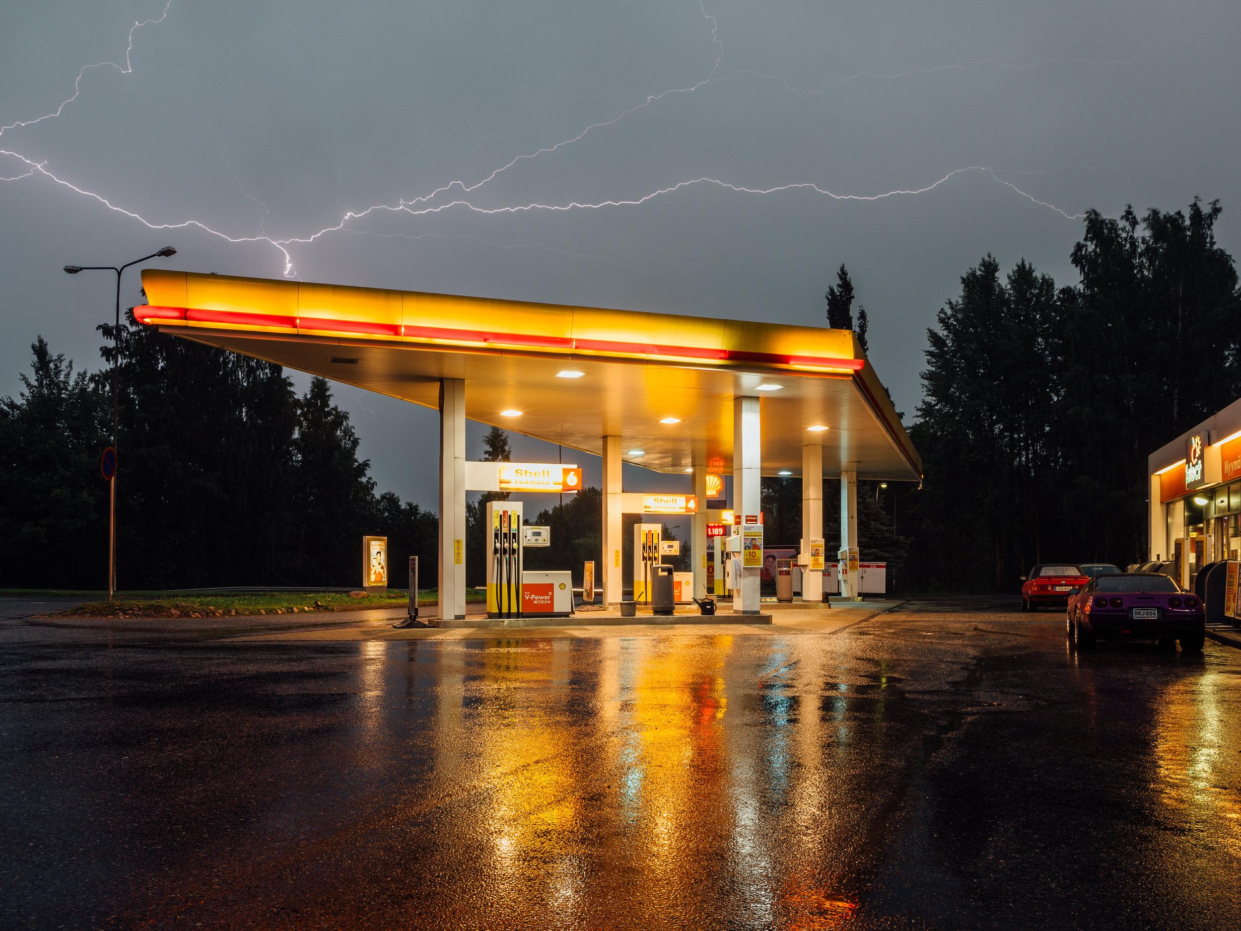 Shell, Lahti, Finland, August 2017