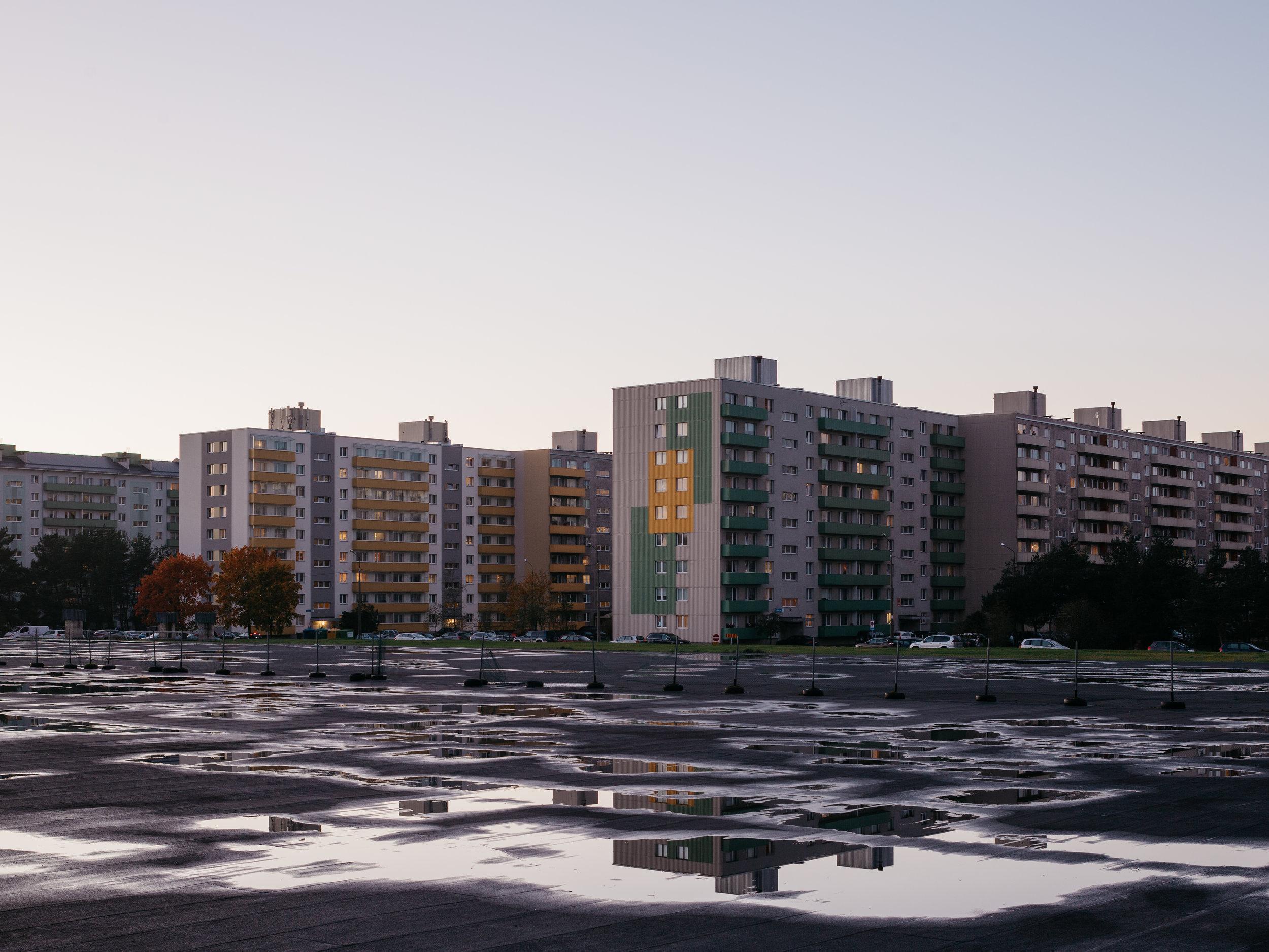 Mustamäe, Tallinn, Estonia, October 2018