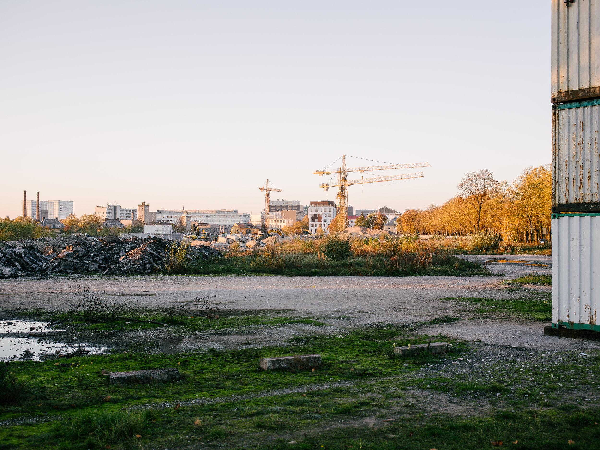 Veerenni, Tallinn, Estonia, October 2018