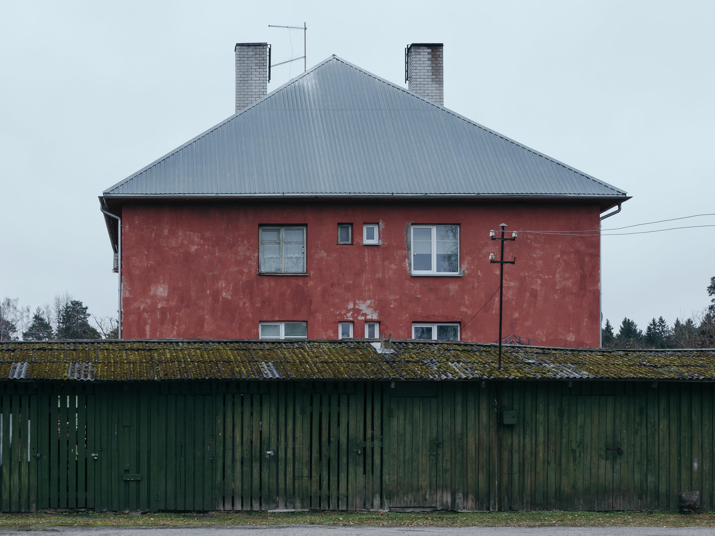 Elva, Estonia, November 2018