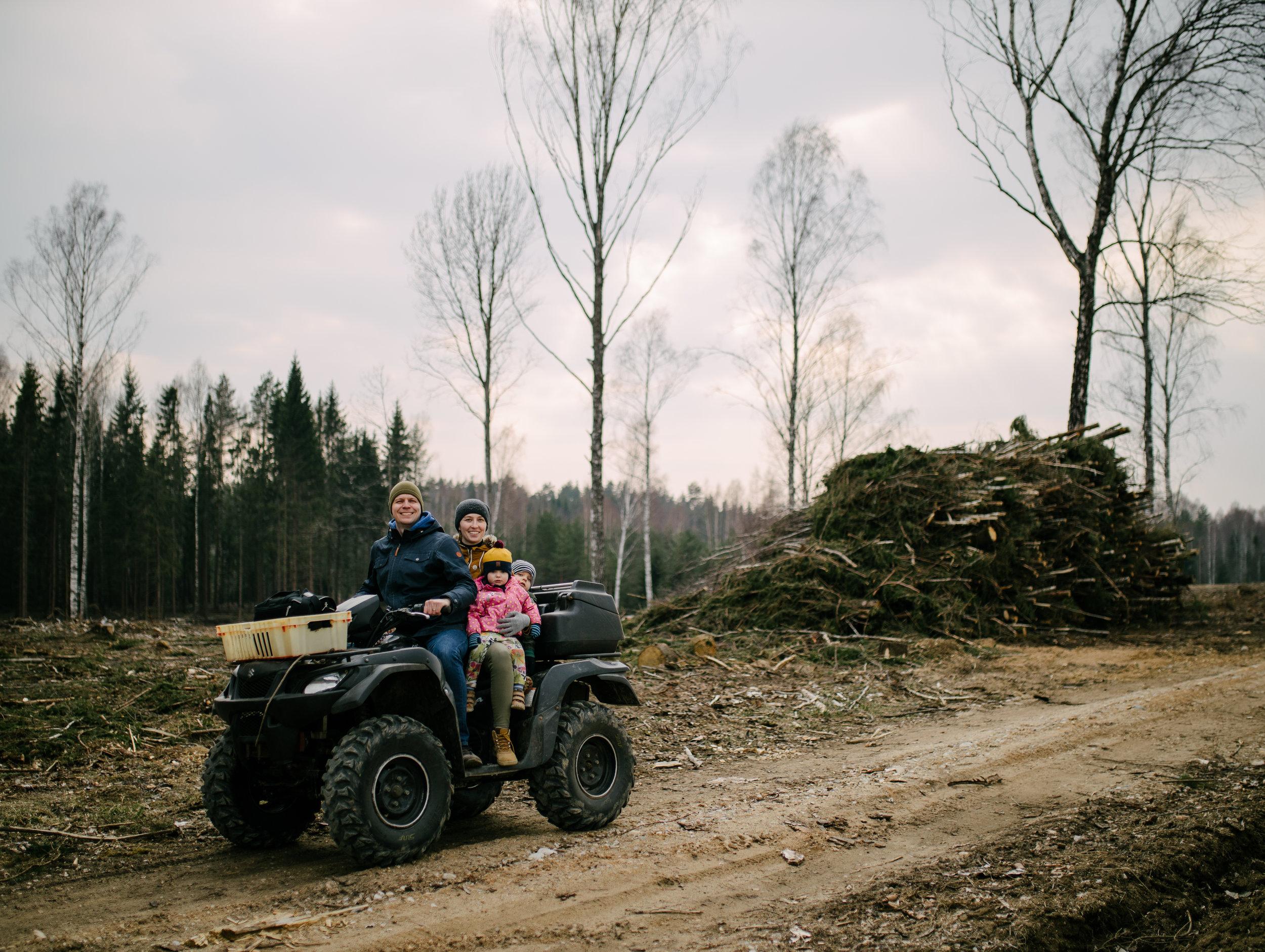 Koruste, Tartumaa, Estonia, April 2019