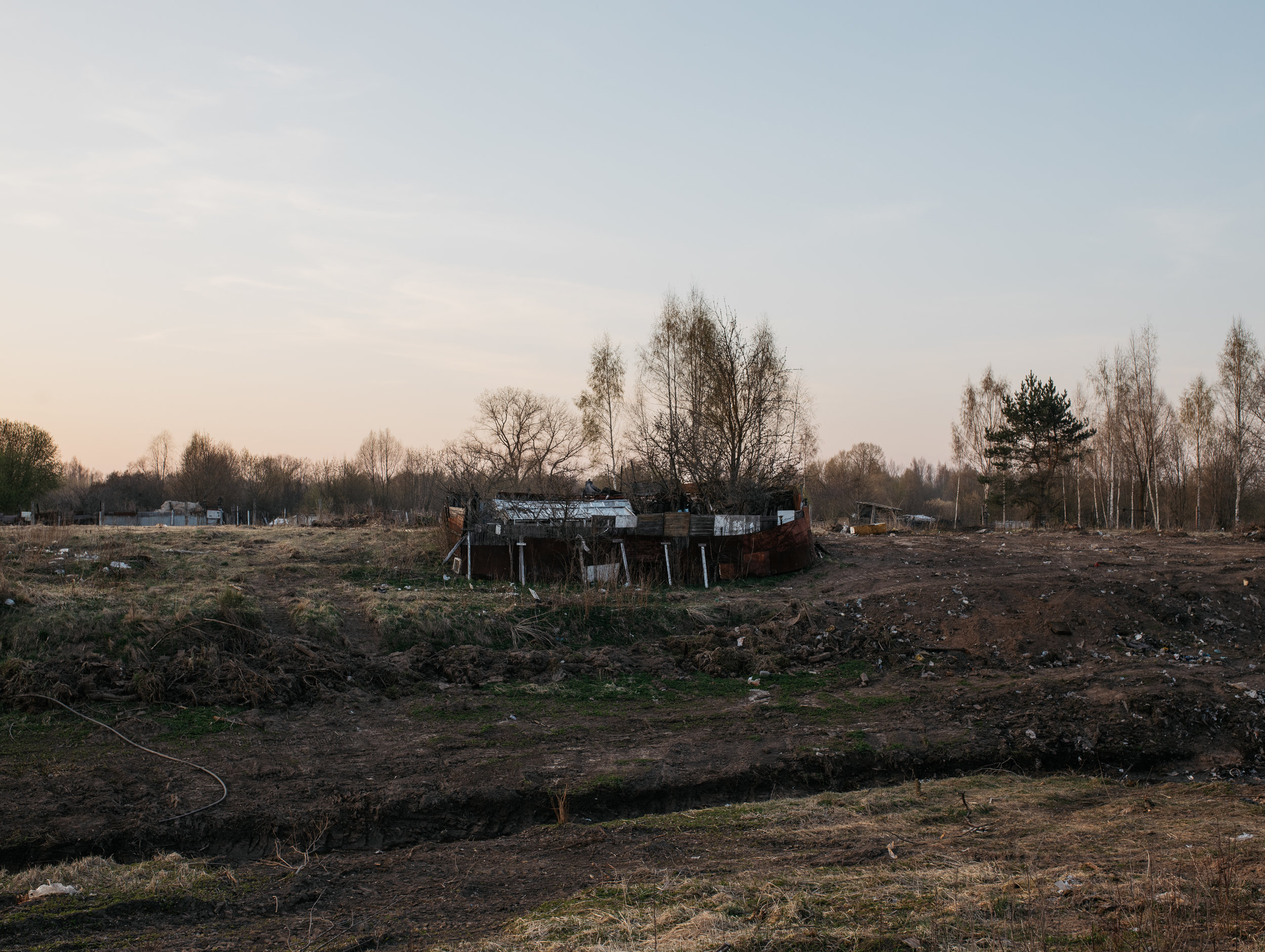 Allotment, Hiinalinn, Tartu, Estonia, April 2019