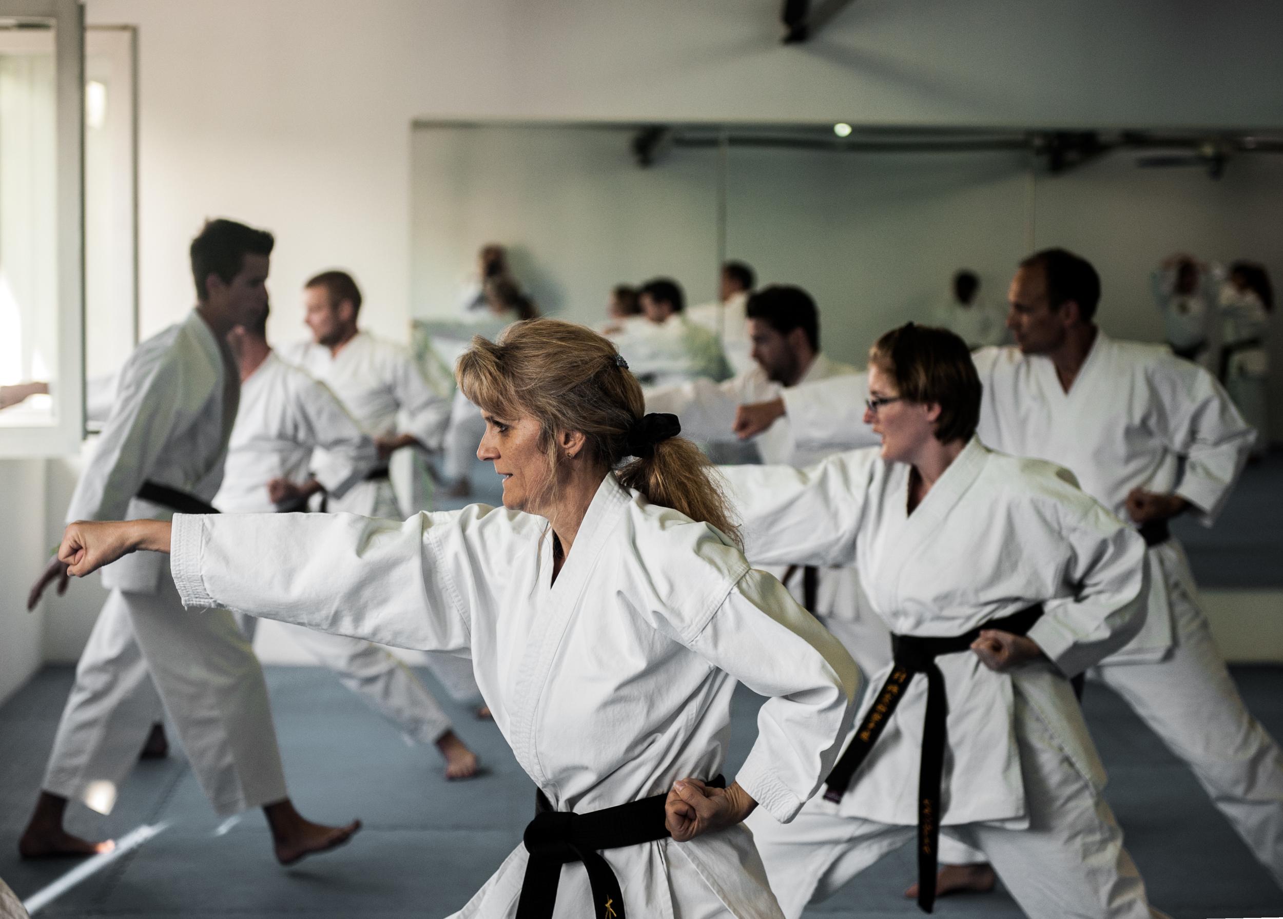 Karate ist der ideale Sport für jedes Alter.
