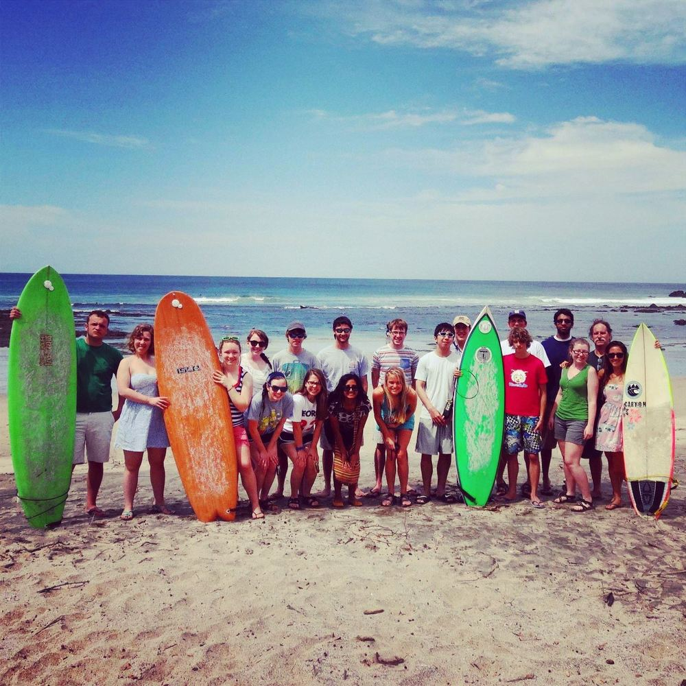 educational surf travel   -