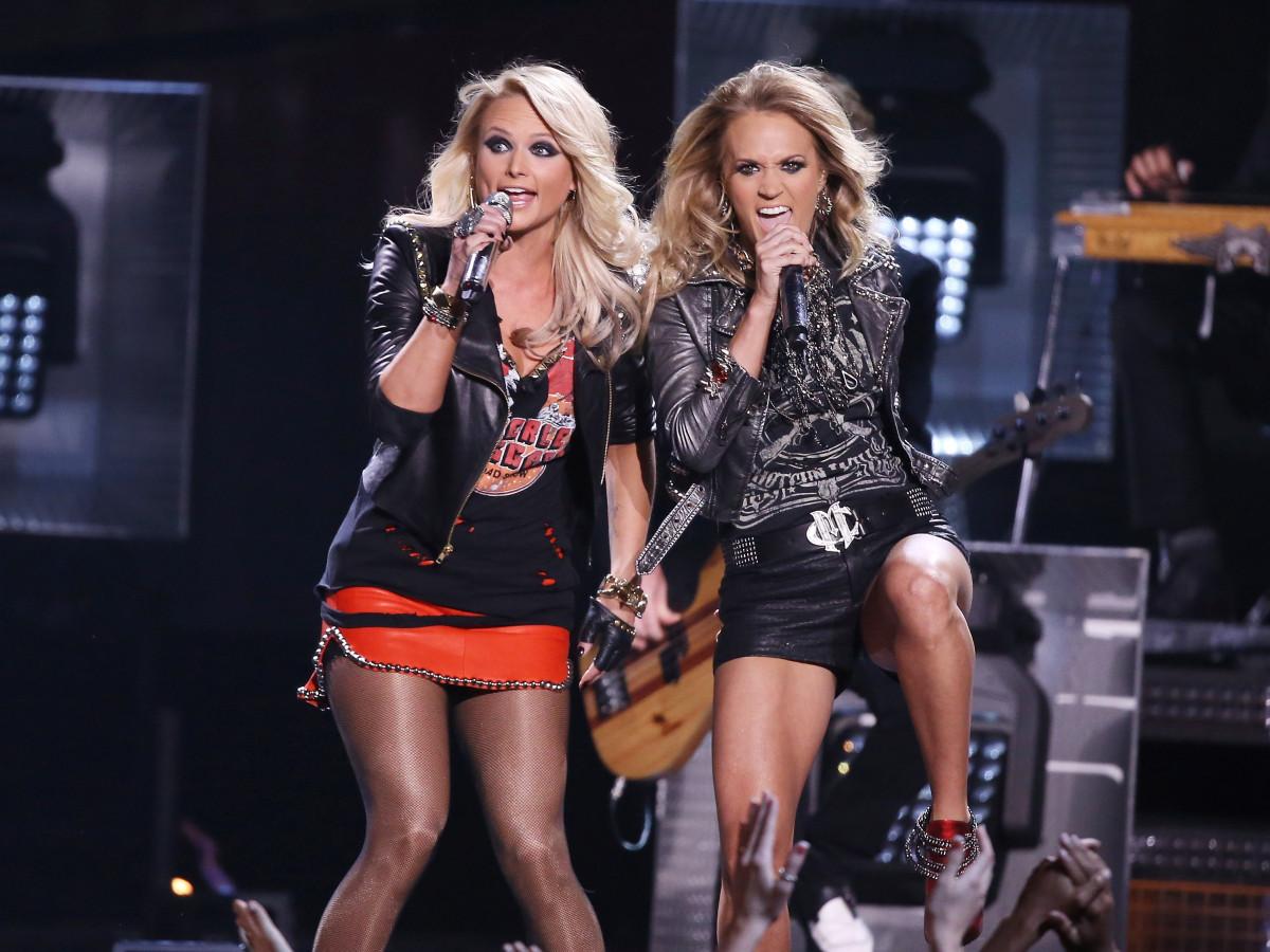 """Something Bad"" by, Miranda Lambert featuring Carrie Underwood"