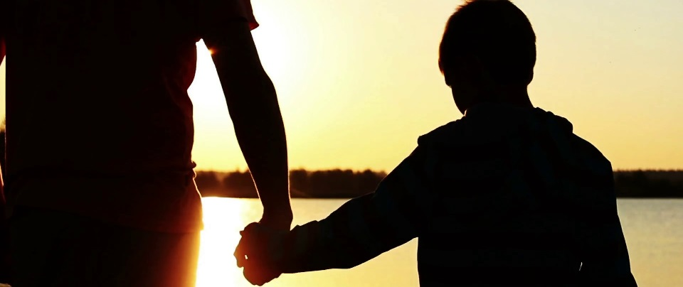 Family - father and son sunset.jpg