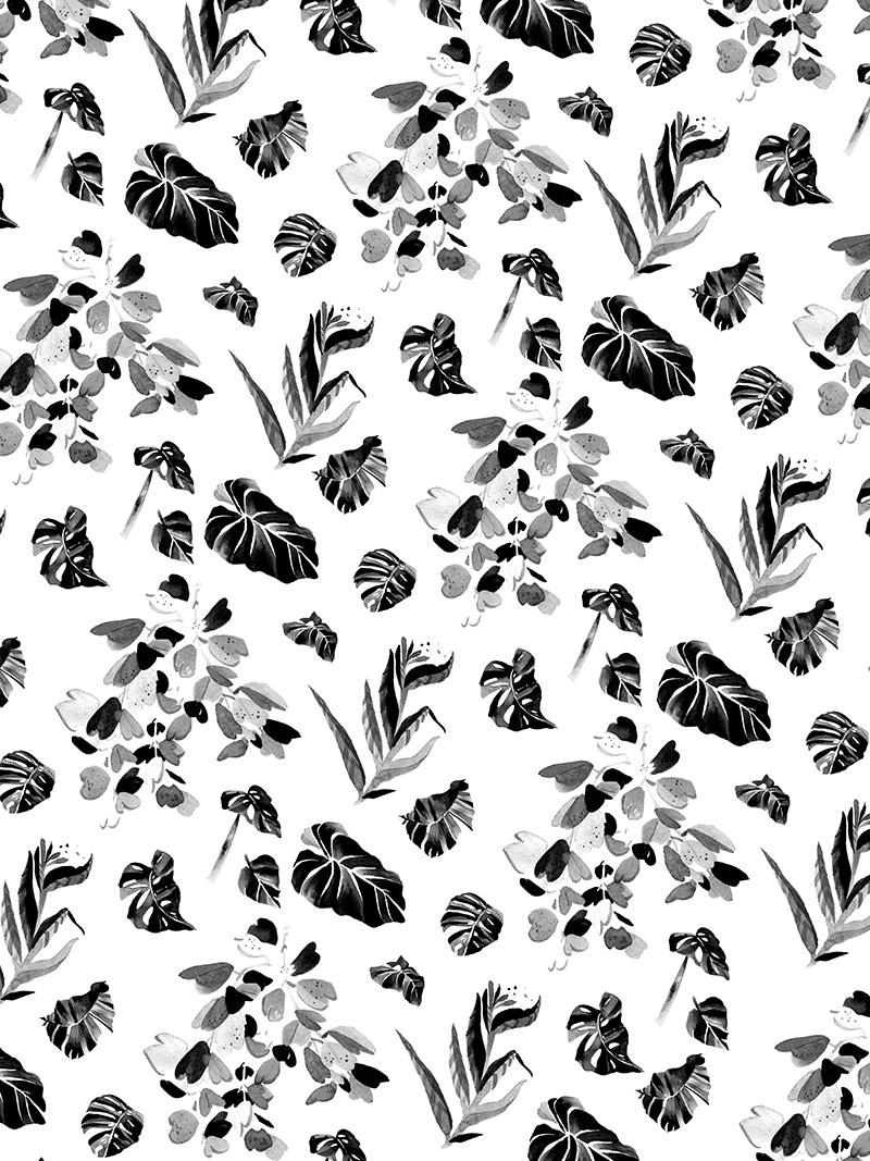 pistils nursery repeat pattern