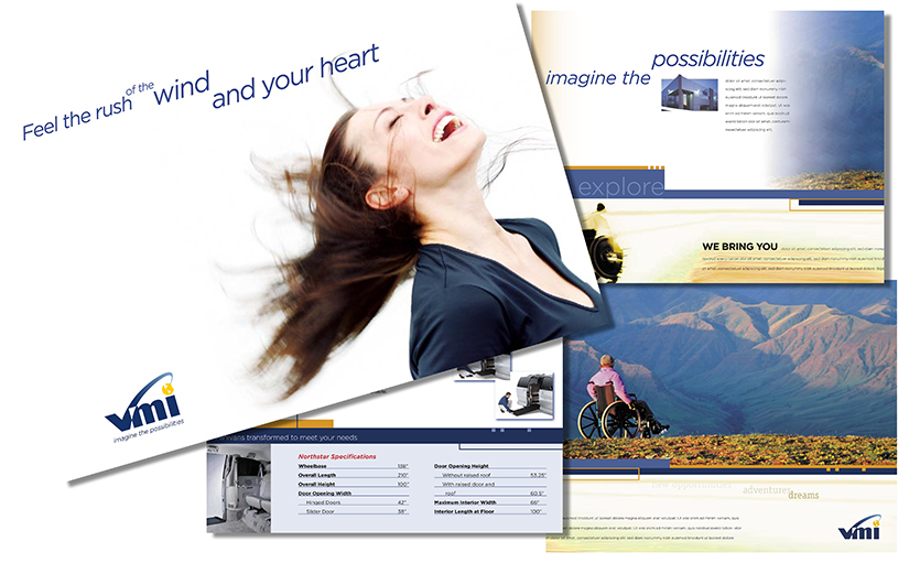 Product Brochure Design - 2006