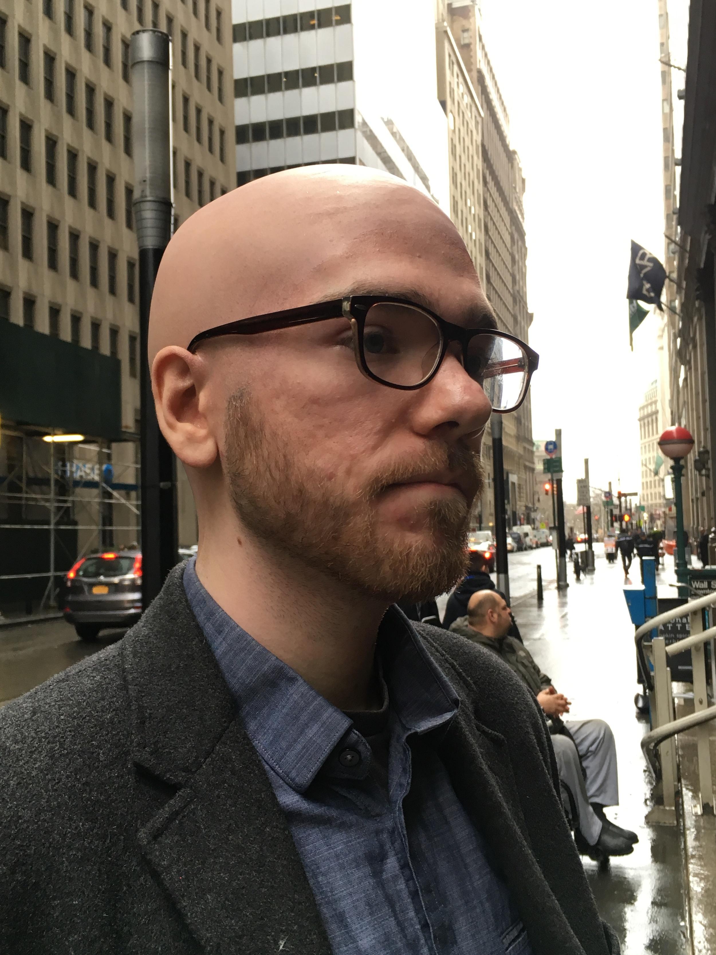 Bald cap application