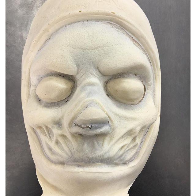 Custom made foam latex prosthetic
