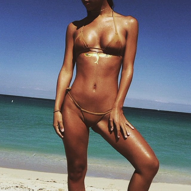 @erikawheaton in the  Barely There in Gold