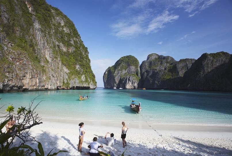 "Phi Phi Leh, Thailand -""The Beach"""