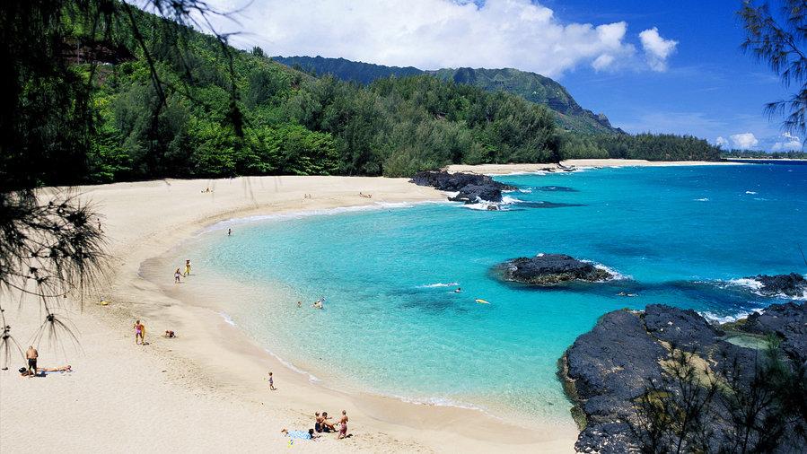 "Lumahai Beach, Kauai, Hawaii - ""South Pacific"""