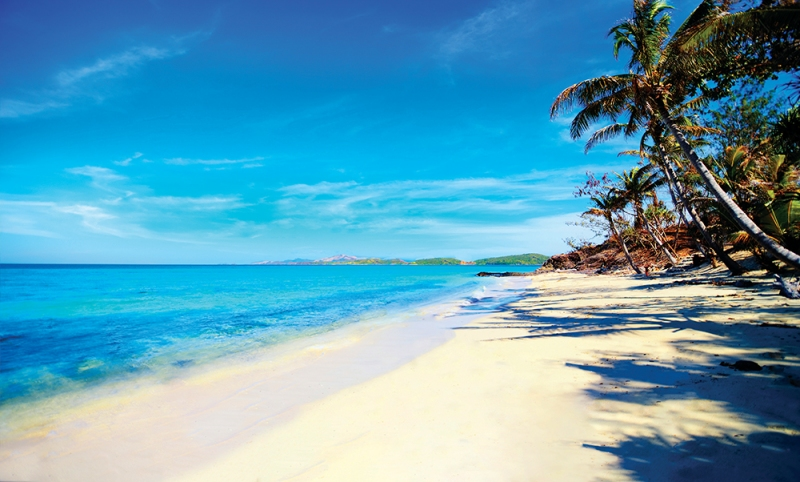 "Devil's Beach, Nanuya Levu Island (Turtle Island), Fiji -""The Blue Lagoon"""