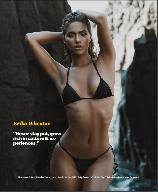 Erika Wheaton for The Cover Magazine Issue #1