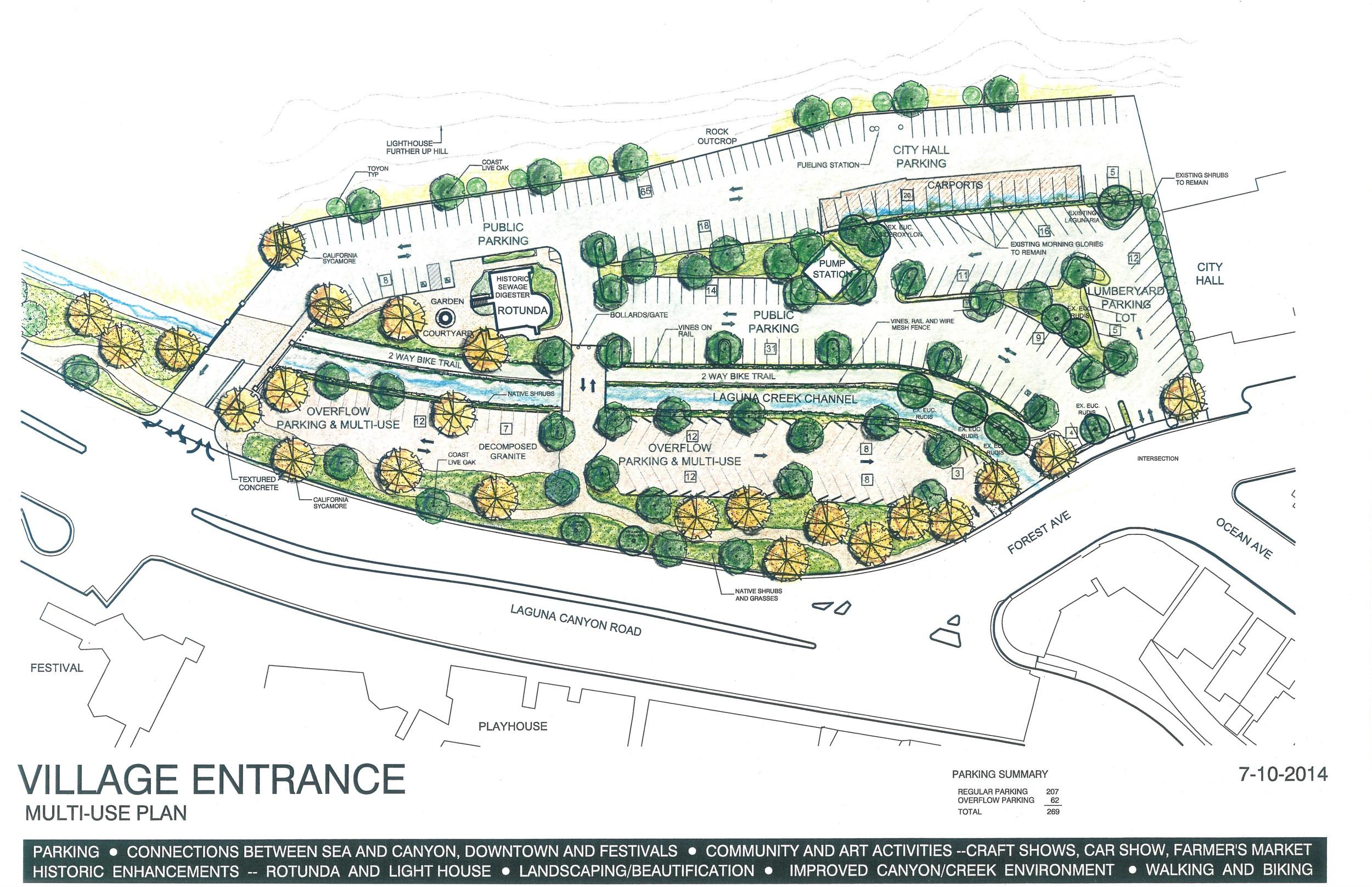 [Village Laguna proposal for Village Entrance]