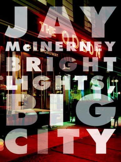 from the cover of  bright lights, big city