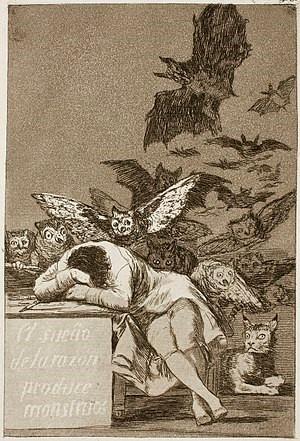 (figure 3 — Artist: Francisco Goya )