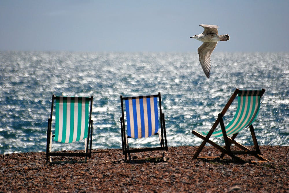 Investors normally go to the beach during the summer, but maybe not this year.