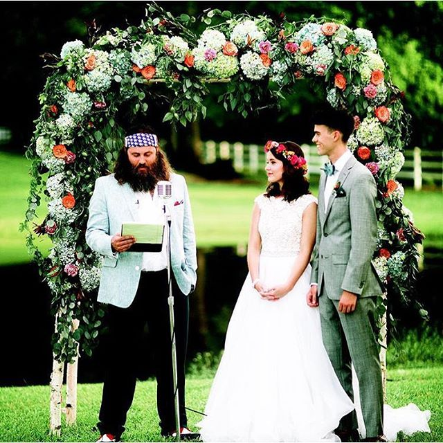 We were honored to make John Luke's wedding band & be featured on this episode of A&E's Duck Dynasty!