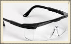 Safety Goggles (must be shatterproof with side shields)