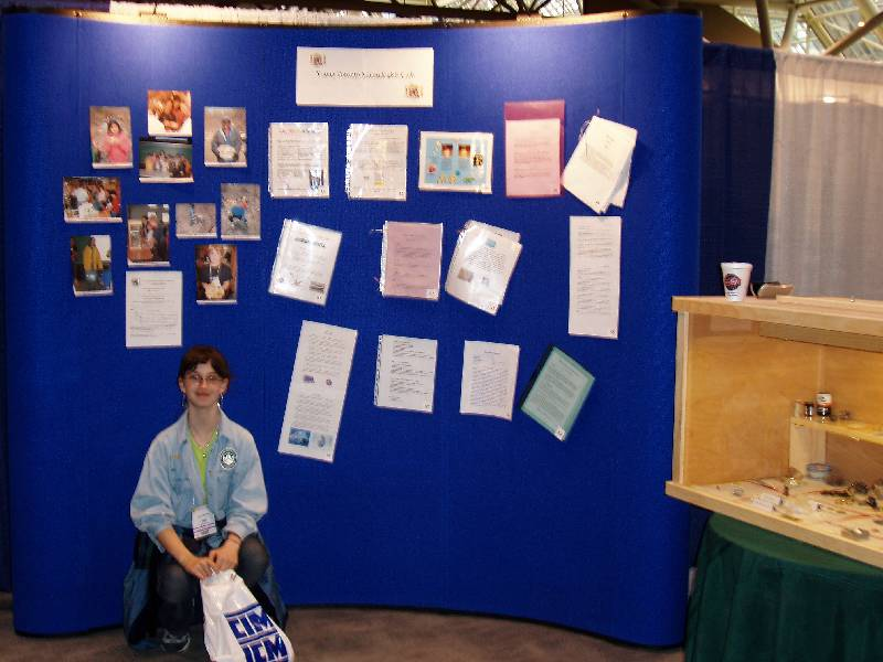 Contest Display with Mary 2.JPG