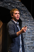 Klopatek as Romeo in the Utah Shakespeare Festival'sShakespeare-in-the-Schools touring production of Romeo and Juliet.