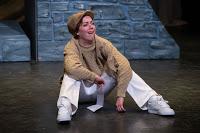 Elizabeth Telford as Peter in Romeo and Juliet.
