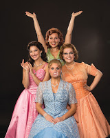 Bednarczuk (left, then clockwise) (Cindy Lou), Storrs (Betty Jean), Cook (Missy), Cozzens (Suzy)