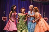 Bednarczuk (Cindy Lou),Storrs (Betty Jean),Cozzens (Suzy), and Cook (Missy)