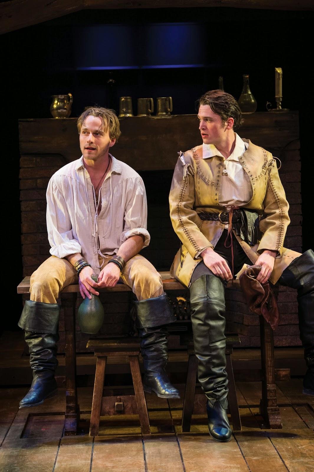 Ashdown as Prince Hal & Bond as Edward Poins. Photo by Karl Hugh
