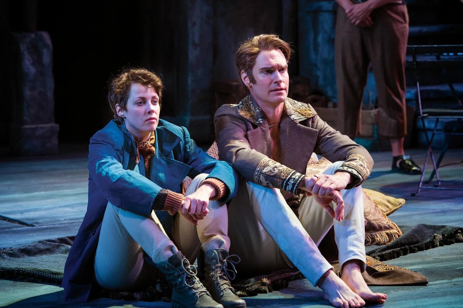 Neil Geisslinger and Grant Goodman in Twelfth Night