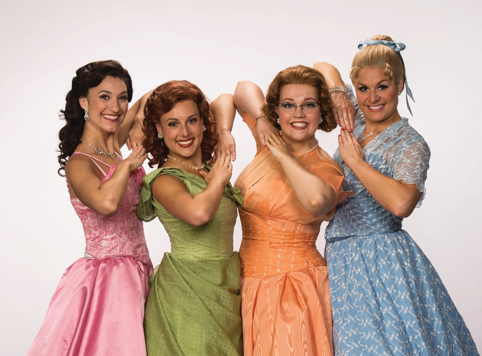 Bednarczuk (Cindy Lou), Storrs (Betty Jean),Cook (Missy), and Cozzens (Suzy)