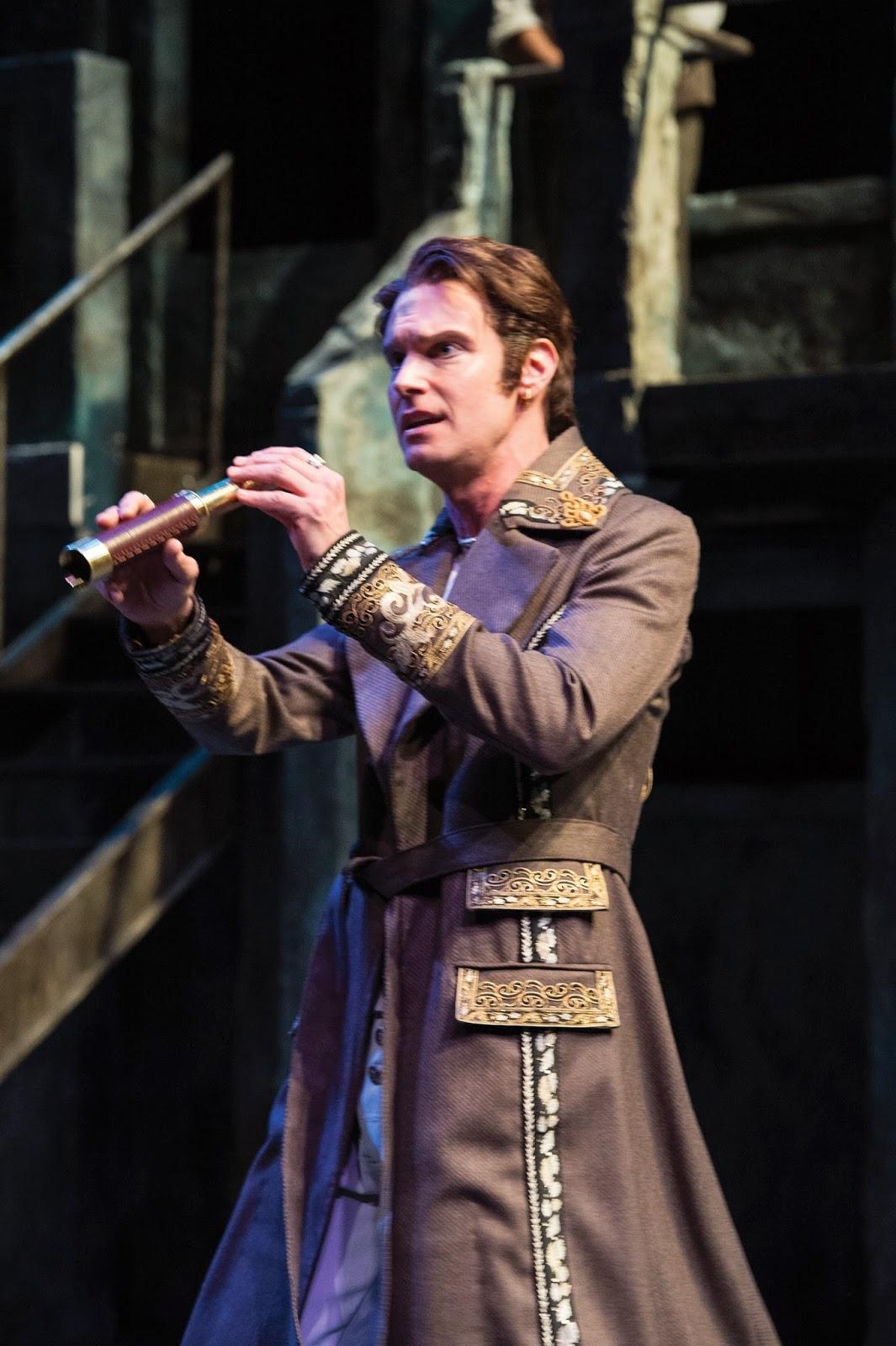 Grant Goodman as Orsino in  Twelfth Night