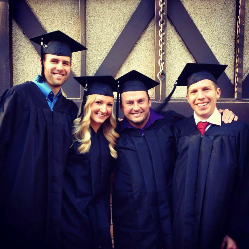 2014 MFA Grads:Wicai, Heaps, Taggart, McDonald