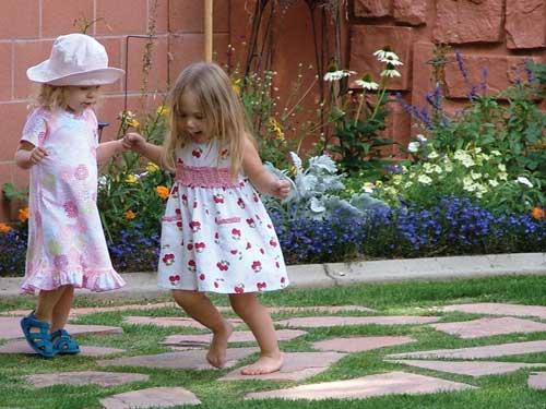 Children enjoy the Festival Child Care.