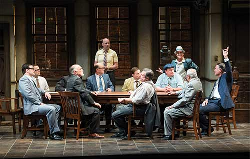 A scene from  Twelve Angry Men,  2013.