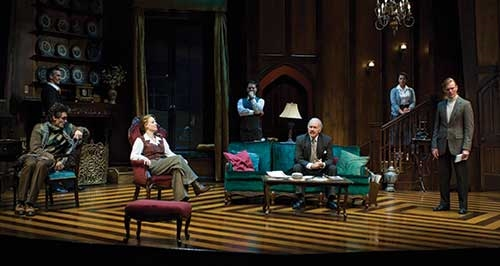 A scene from  The Mousetrap,  2007.