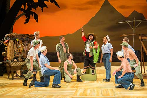 A scene from  South Pacific,  2015.