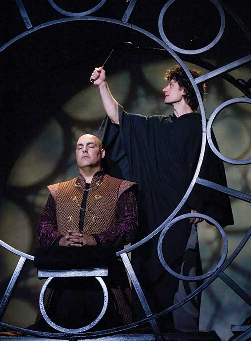 Peter Sham (left) as Charles and Kevin Massey as Pippin in  Pippin,  2005.